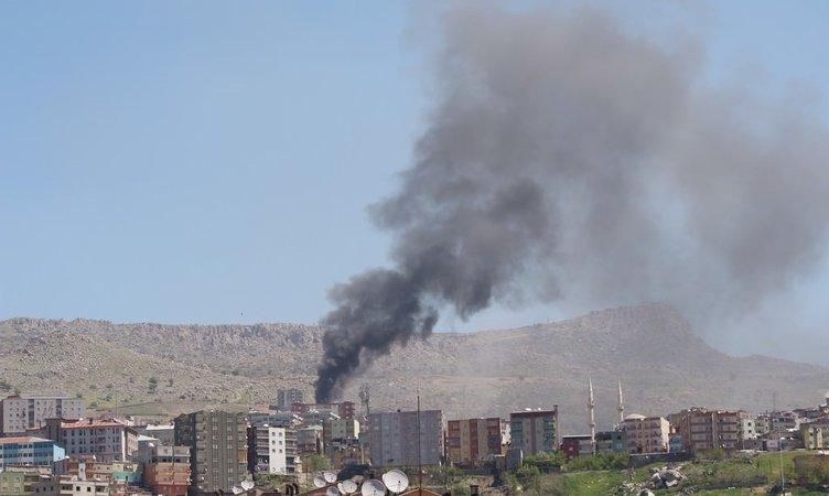Şırnak'ta PKK'lılar ateş altında!