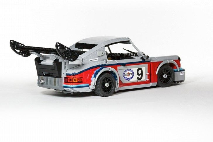 Porsche'ye LEGO'dan motor