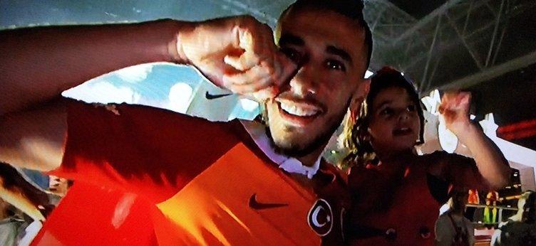 Galatasaray'ın şampiyonluk kutlamasında Belhanda'dan şok hareket! Fener ağlama...