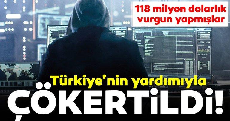 Dünyayı 'phish'lemişler! Türkiye'nin yardımıyla çökertildi