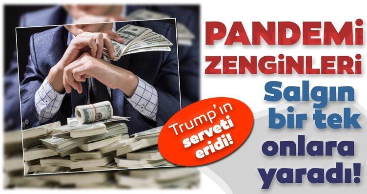 Pandemi zenginleri: Salgın bir tek onlara yaradı…...