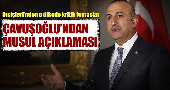Bakan Çavuşoğlu'dan PKK açıklaması