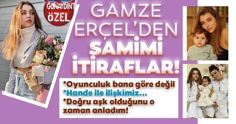 Hande Erçel'in kardeşi Gamze Erçel'den şaşırtan itiraf: Oyunculuk bana göre değil!