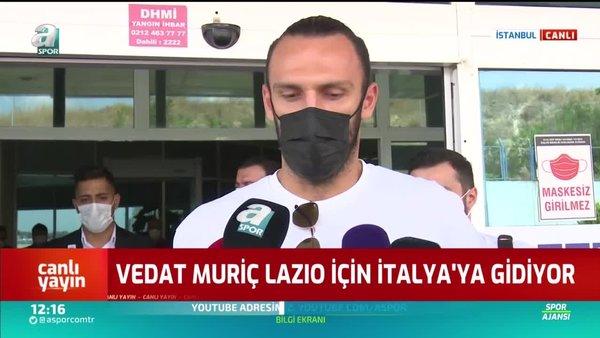 Son dakika: Vedat Muriqi İtalya'ya uçtu! Flaş açıklamalar