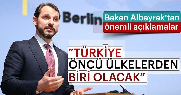 Enerji Bakanı Berat Albayrak Enerji Dönüşüm Diyaloğu Konferasında konuştu