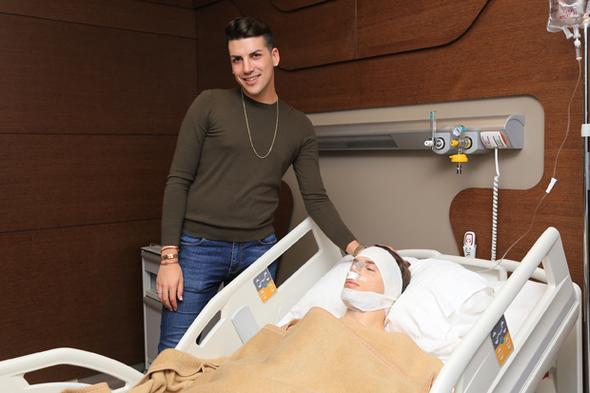 Samet Liçina ameliyat sonrası ilk kez görüntülendi