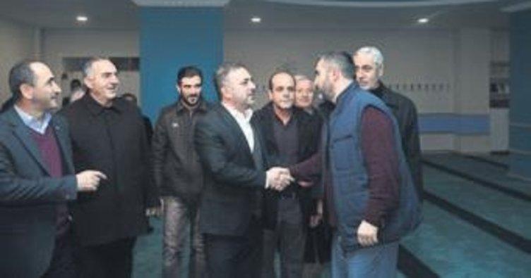 Başkan Ercan'dan Akşemsettin turu
