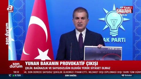 SON DAKİKA: AK Parti Sözcüsü Ömer Çelik: Yunanistan göçmenleri yakmaya çalıştı   Video