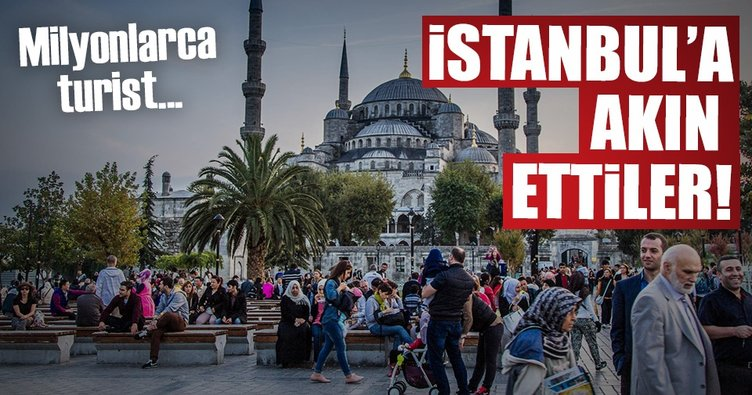 İstanbul'a ilk 10 ayda 9 milyon turist geldi