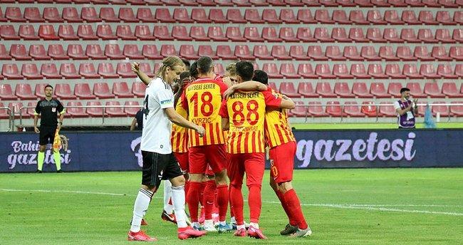 Kayserispor Beşiktaş'ı 7 yıl sonra yendi