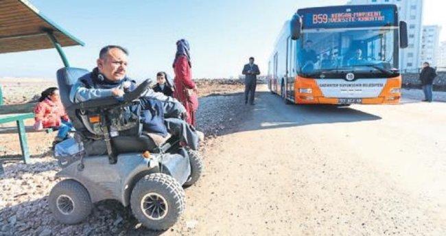 Gaziantep'e yeni otobüs hatları