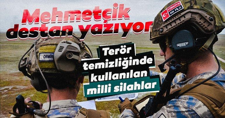 Barış Pınarı Harekatı'nda Türk Silahlı Kuvvetleri'nin kullandığı yerli ve milli silahlar
