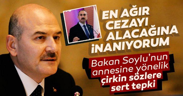 Adalet Bakanı Gül'den Süleyman Soylu'nun annesine yönelik sözlere sert tepki