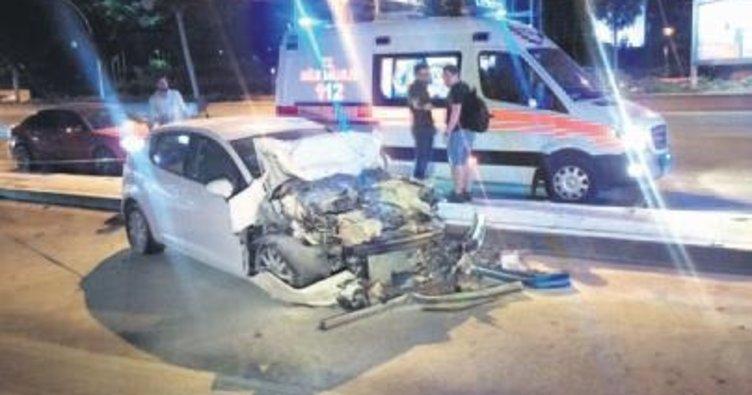 Başkentte zincirleme kaza: 5 yaralı