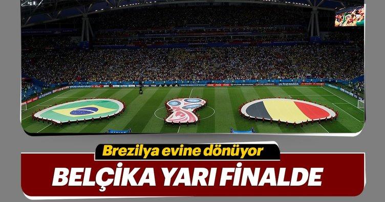 Belçika Brezilya'yı 2-1 mağlup ederek yarı finale yükselen 2. takım oldu