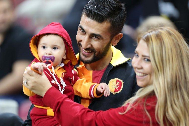 Galatasaray-Mersin İdmanyurdu maçından kareler