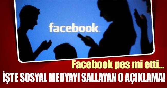 Facebook'tan sahte içerik açıklaması!