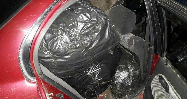 Diyarbakır'da 345 kilogram esrar ele geçirildi