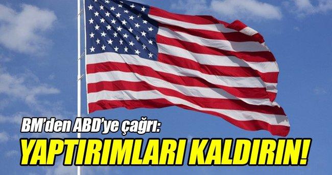 BM'den ABD'ye çağrı!
