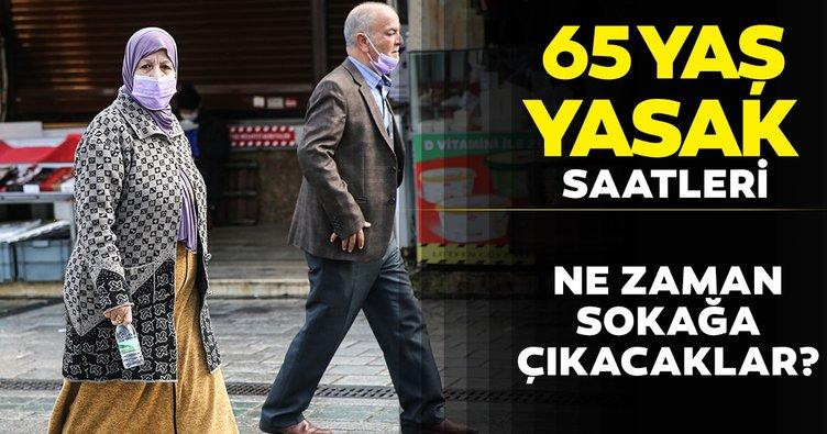 SON DAKİKA HABERİ! 65 yaş üstü sokağa çıkma yasağı saatleri ve günleri: 65 yaş üstü dışarı çıkma izni ne zaman, hafta içi yasak var mı?