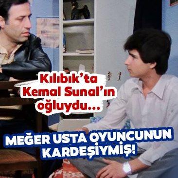 Kılıbık filminde Kemal Sunal'ın oğluydu... Kılıbık filminin genç oyuncusu usta ismin kardeşi çıktı!