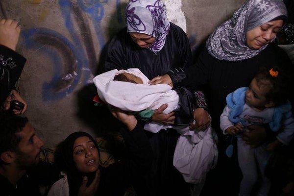 Gazze'den sıcak kareler