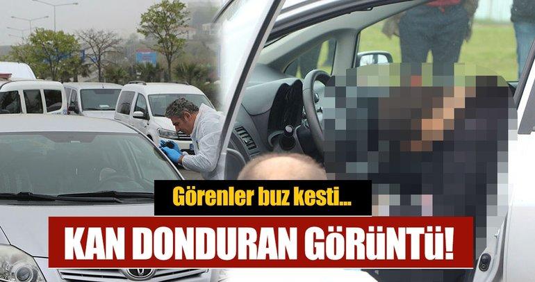 Trabzon'da bir şahıs aracı içerisinde kalbinden vurulmuş olarak olarak bulundu