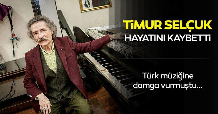 SON DAKİKA HABER | Usta müzisyen Timur Selçuk hayatını kaybetti! Timur Selçuk kimdir, kaç yaşında ve neden öldü?