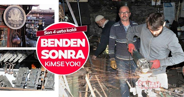 225 yıllık Demirciler Çarşısı'nda son 4 usta kaldı
