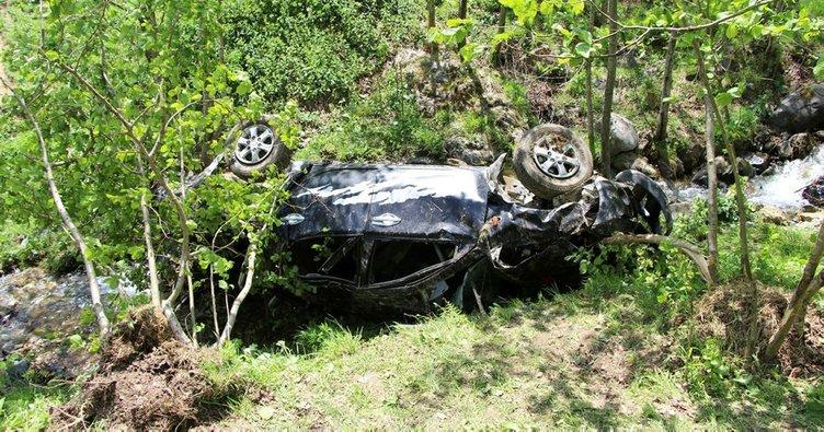 Trabzon'da yayla yolunda feci kaza: 4 ölü, 3 yaralı
