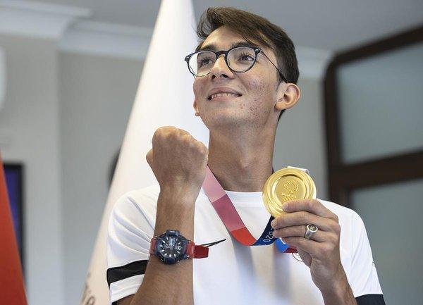 Olimpiyat madalyalı sporcu teknolojiyle takip ediliyor 14