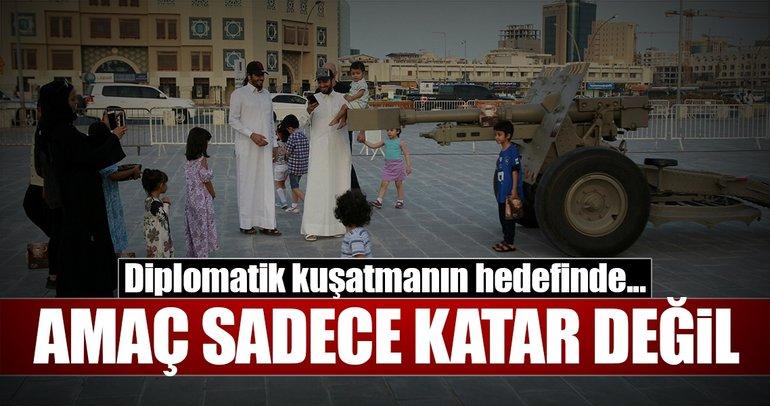 Amaç sadece Katar değil