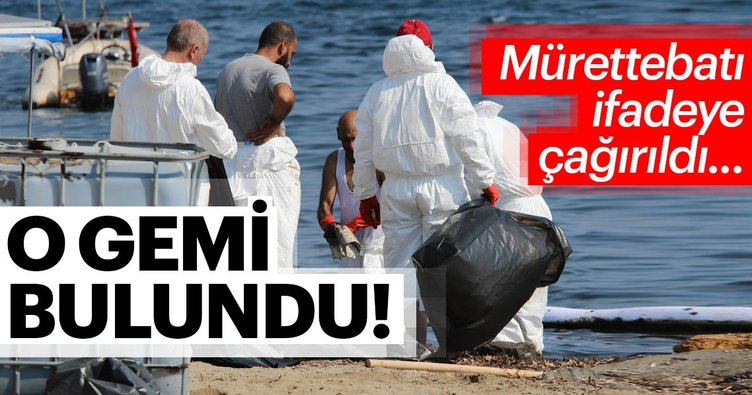 Son dakika: İzmir'de denizi kirleten gemi bulundu