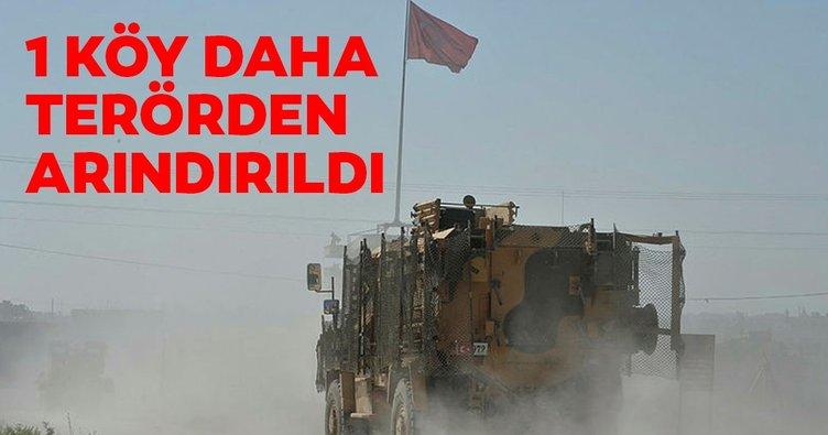 Halave köyü YPG/PKK'lı teröristlerden kurtarıldı