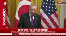 """Başkan Erdoğan: """"ABD ile ilişkilerde yeni bir sayfa açmakta kararlıyız"""""""