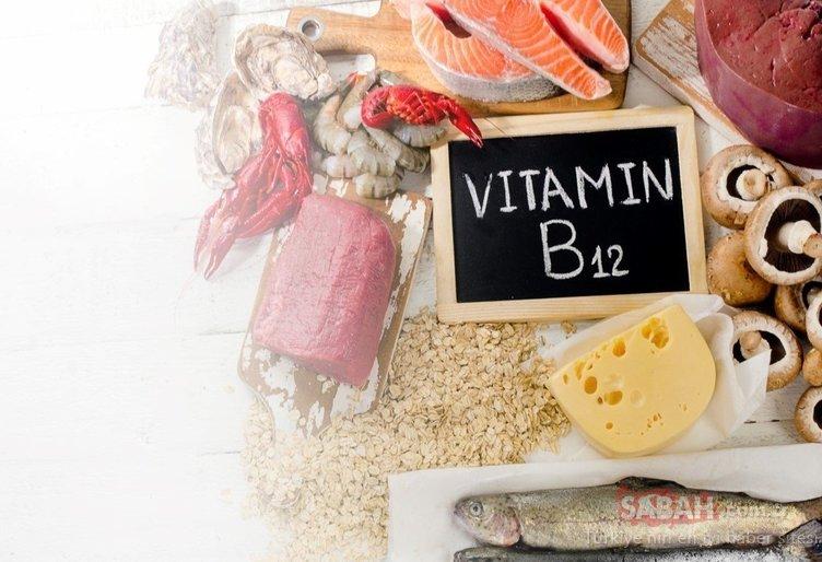 B12 vitamin ihtiyacını karşılayan en etkili besin...