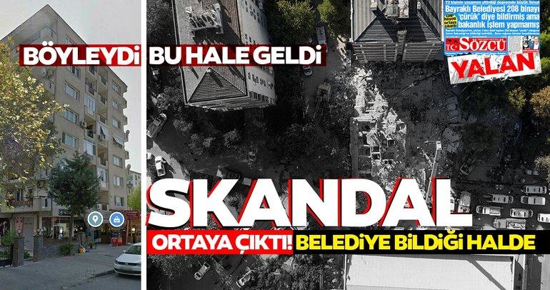 SON DAKİKA... İzmir'de Rızabey ve Doğanlar Apartmanı'nda rapor skandalı! Belediye bildiği halde Bakanlığa bildirmemiş
