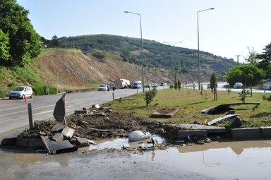 Samsun'da yolcu otobüsü devrildi: Çok sayıda yaralı var!