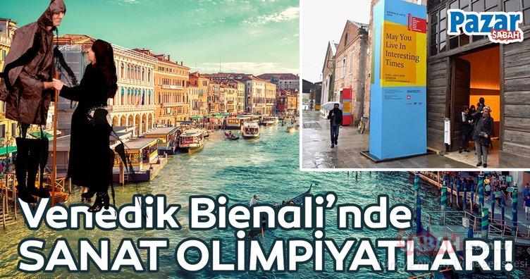 Sanat dünyasının olimpiyatları Venedik'te başladı!