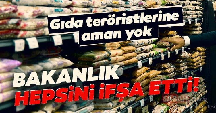 SON DAKİKA HABERİ! Gıda teröristlerine aman yok! Tarım ve Orman Bakanlığı hileli ürünleri ifşa etti