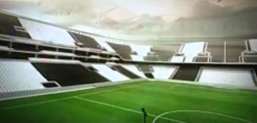 Beşiktaş'ın yeni stadı  Vodafone Arena'nın tanıtımı yapıldı