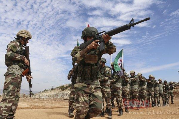 Harekat böyle bekliyorlar: ÖSO Özel Kuvvetleri'nin tatbikatı gerçeği aratmadı