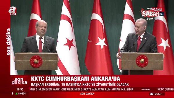 Başkan Erdoğan'dan gülümseten açıklama: Kapalı Maraş'ta piknik yapabiliriz | Video
