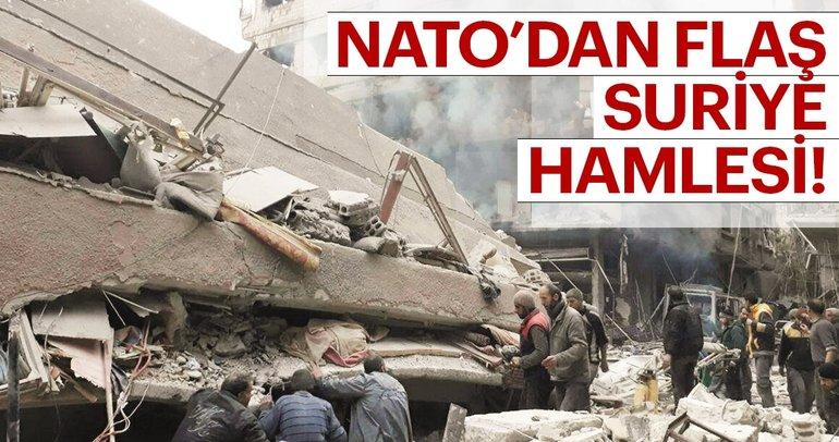 Son Dakika: NATO, Doğu Guta'daki kimyasal saldırıyı güçlü biçimde kınadı
