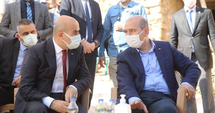 Bakan Soylu Mardin'de düzenlenen Kürtçe mevlide katıldı