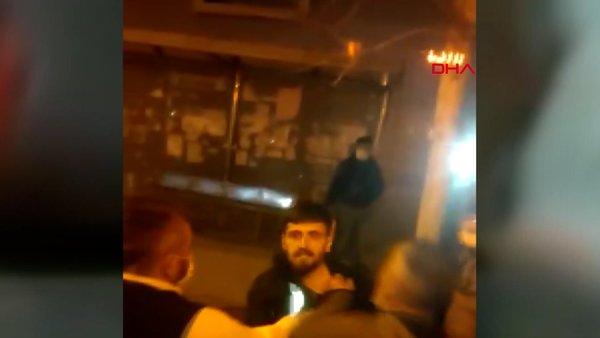 İstanbul Esenyurt'ta iki İETT otobüsüne yumruklu tekmeli saldırı kamerada   Video