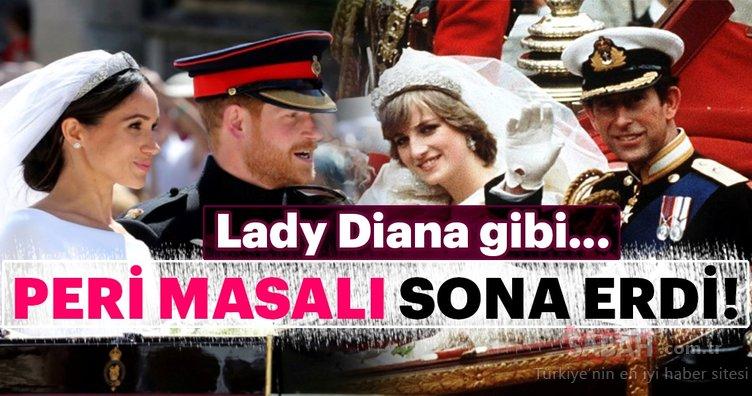 Meghan Markle için gerçeklerle yüzleşme zamanı! Lady Diana gibi...