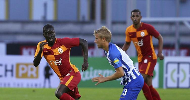 Galatasaray hazırlık maçında Hertha Berlin'e boyun eğdi