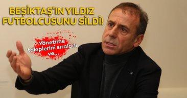 Son dakika Beşiktaş transfer haberleri! Abdullah Avcı, Beşiktaş´ın yıldız futbolcusunu sildi!