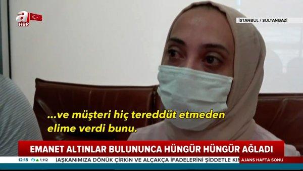 İstanbul'da kaybolan emanet Cumhuriyet altınlarını gözyaşları içinde böyle teslim aldılar   Video